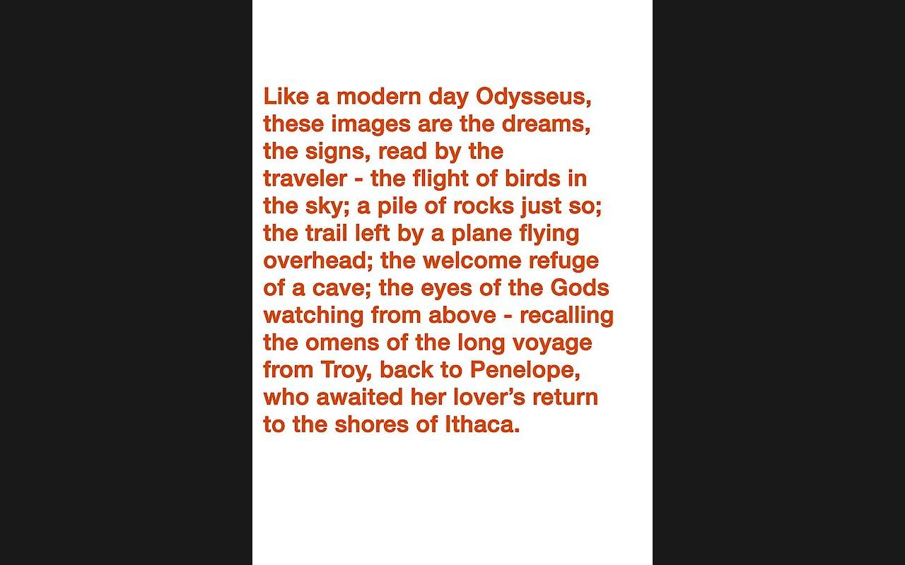 ODYSSEUS' DREAMS